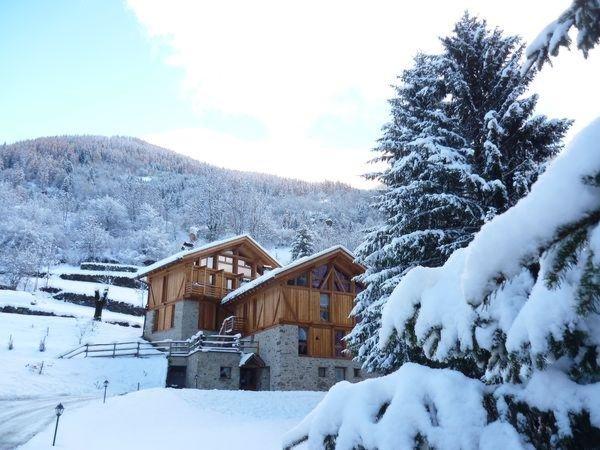 Foto invernale di presentazione Maso Fior di Bosco - Camere + Appartamenti in agriturismo