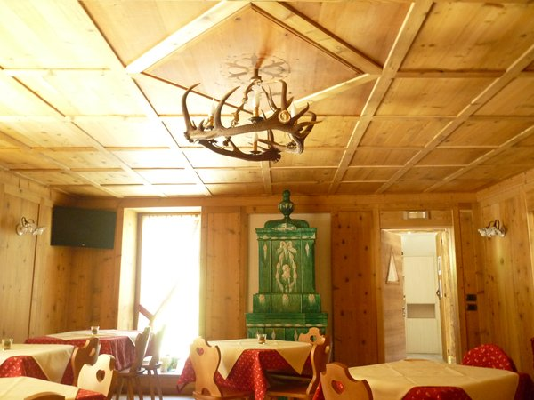 Il ristorante San Bernardo (Val di Rabbi) Maso Fior di Bosco