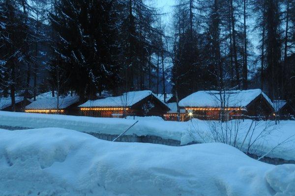 Foto esterno in inverno Cevedale