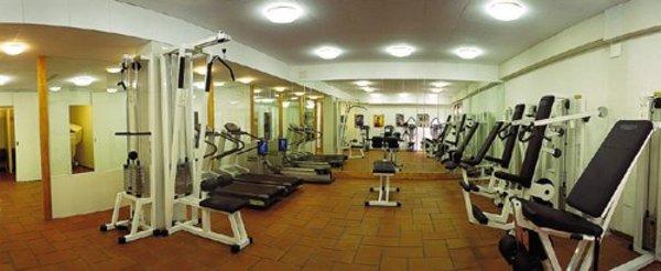 Foto della zona fitness Appartamenti Top