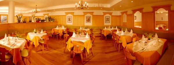 Il ristorante Tires Weisslahnbad