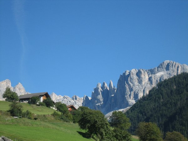 Position Farmhouse apartments Koflerhof S. Cipriano / St. Zyprian