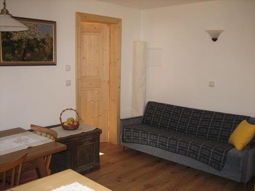 La zona giorno Spinuserhof - Appartamenti 3 fiori