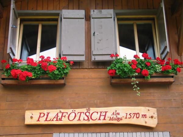 Foto esterno Baita Plafötsch