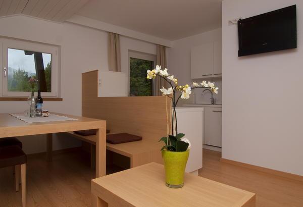 La zona giorno Haus Maier - Appartamenti 3 soli
