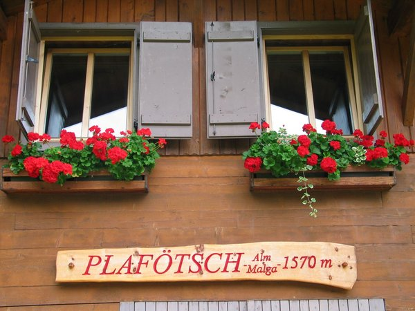 Foto esterno in estate Plafötsch