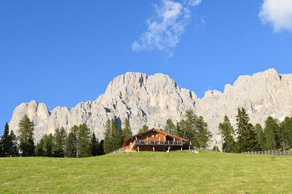 Sommer Präsentationsbild Hütte Messnerjoch
