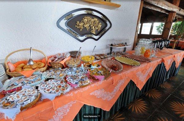 La colazione Hotel Splendor