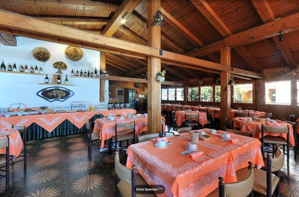 Il ristorante Folgarida Splendor
