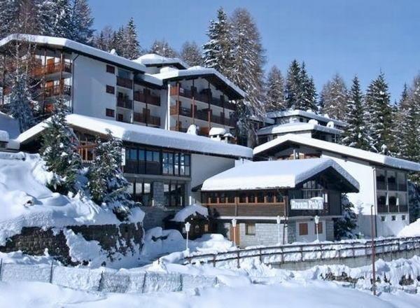 Foto invernale di presentazione Hotel Splendor
