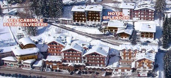 La posizione Hotel Splendor Folgarida