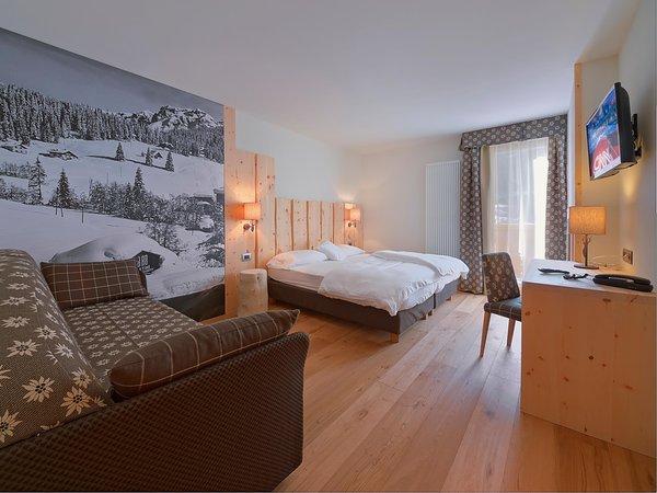 Foto vom Zimmer Hütten-Hotel Chalet degli Angeli