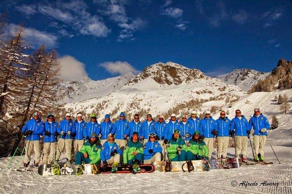 Foto invernale di presentazione Val di Pejo - Scuola italiana sci e snowboard