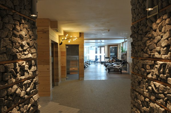 Photo of the wellness area Hotel Chalet Laura Lodge Hotel