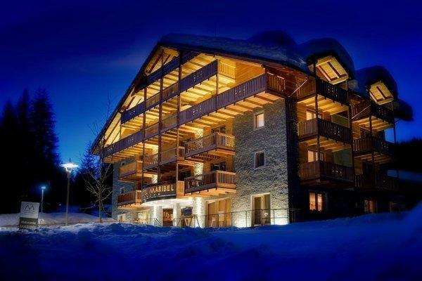 Winter presentation photo Maribel - Hotel 4 stars sup.