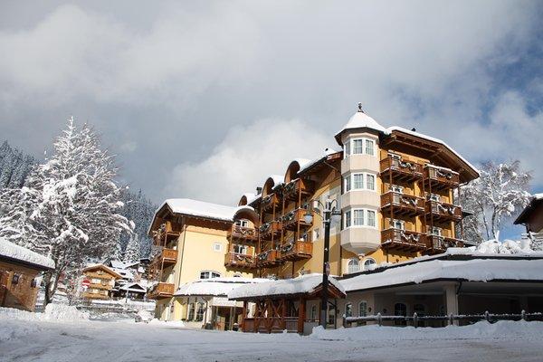 Foto invernale di presentazione Hotel Chalet All'Imperatore