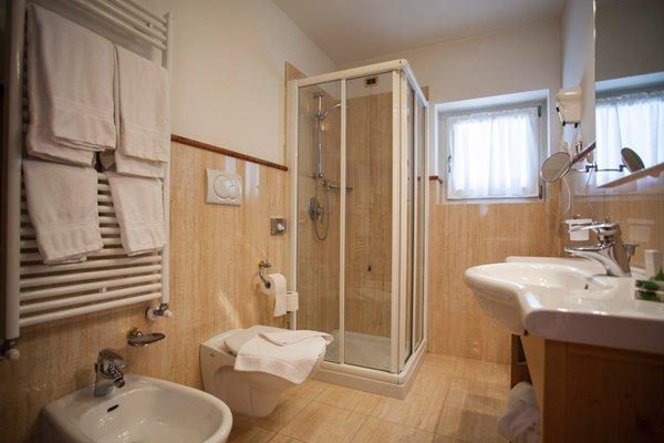 Foto del bagno Hotel Chalet All'Imperatore