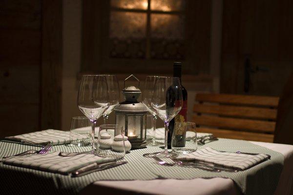 Il ristorante Madonna di Campiglio Chalet All'Imperatore