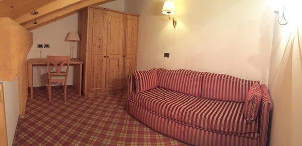 The living area Campiglio Bellavista - Hotel 4 stars
