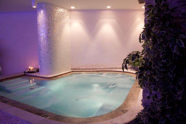 Photo of the wellness area Hotel Campiglio Bellavista