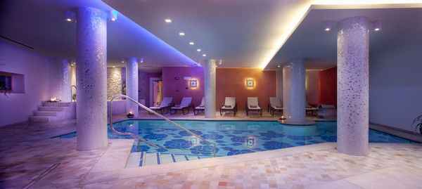 Swimming pool Campiglio Bellavista - Hotel 4 stars
