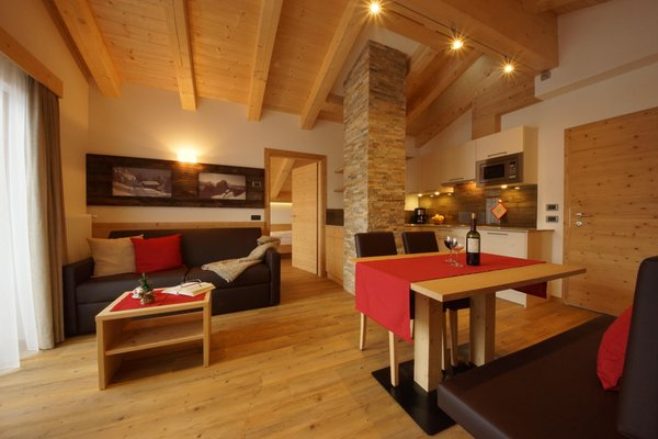 The living area Apartments Wallis