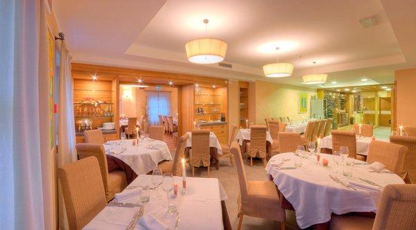 The restaurant Madonna di Campiglio Chalet del Brenta