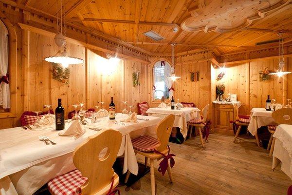 The restaurant Madonna di Campiglio Gianna