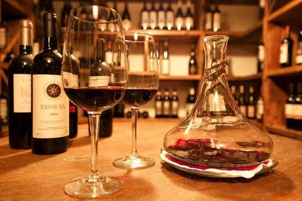 Wine cellar Madonna di Campiglio Gianna