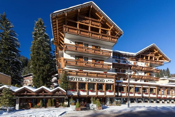 Winter presentation photo Splendid - Hotel 4 stars