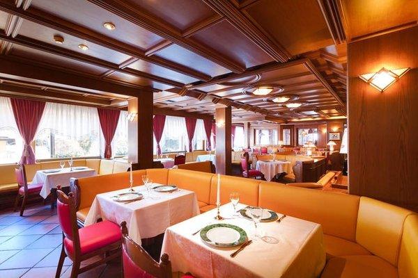 The restaurant Madonna di Campiglio Splendid