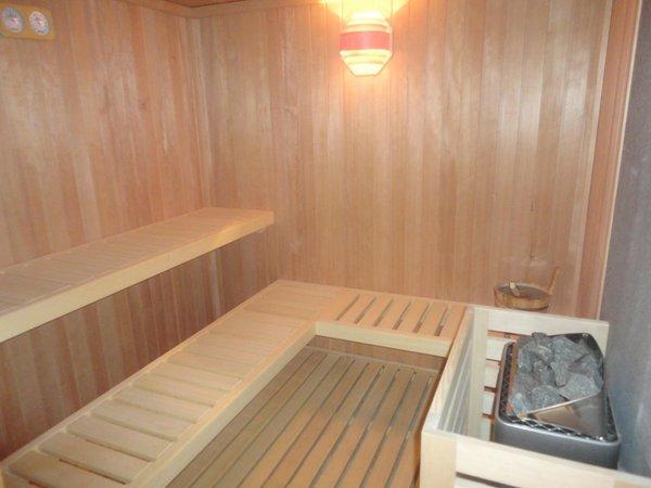 Photo of the sauna S. Antonio di Mavignola