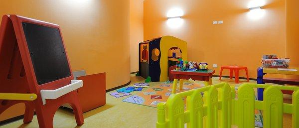 The children's play room Hotel Crozzon