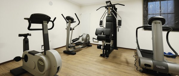 Photo of the fitness area Hotel Crozzon