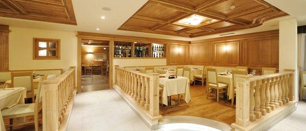 The restaurant Madonna di Campiglio Crozzon