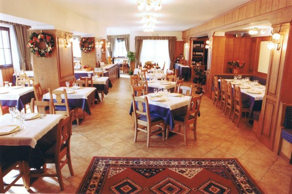 The restaurant Madonna di Campiglio Betulla