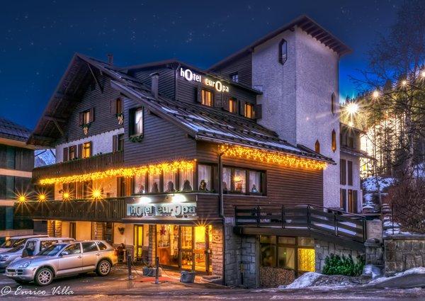 Winter Präsentationsbild Hotel Europa