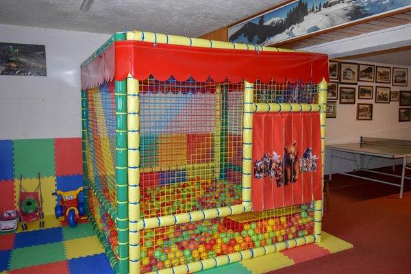 Das Kinderspielzimmer Hotel Europa