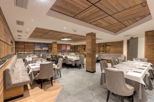 The restaurant Madonna di Campiglio Rosengarten