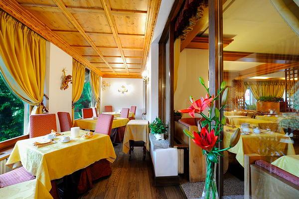 Das Restaurant Madonna di Campiglio Touring