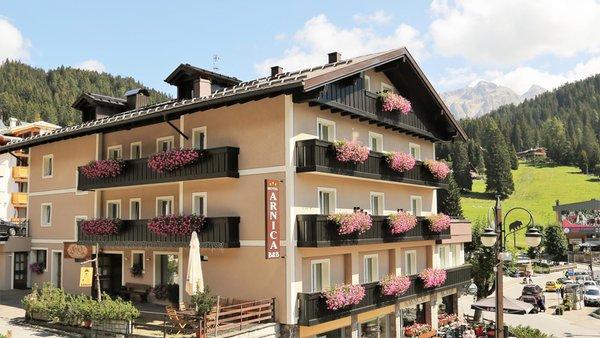 Summer presentation photo Arnica - B&B (Garni)-Hotel 3 stars