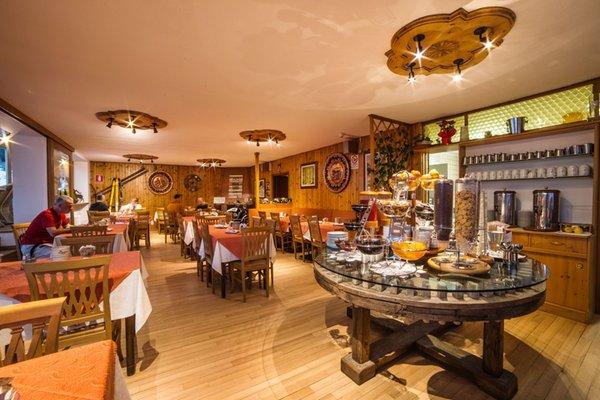 The restaurant Madonna di Campiglio Cime d'Oro