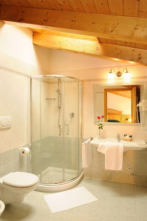 Photo of the bathroom B&B (Garni)-Hotel La Soldanella