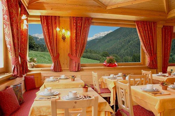 The restaurant S. Antonio di Mavignola (Madonna di Campiglio) La Soldanella
