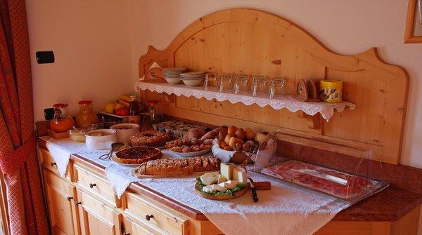 The breakfast La Soldanella - B&B (Garni)-Hotel 3 stars