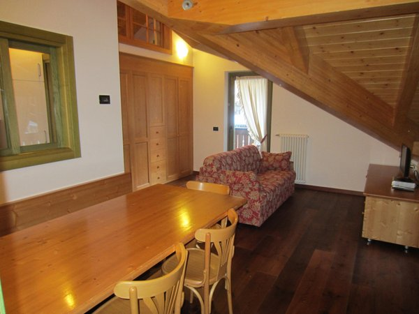 The living area Apartments in hotel Torre del Brenta