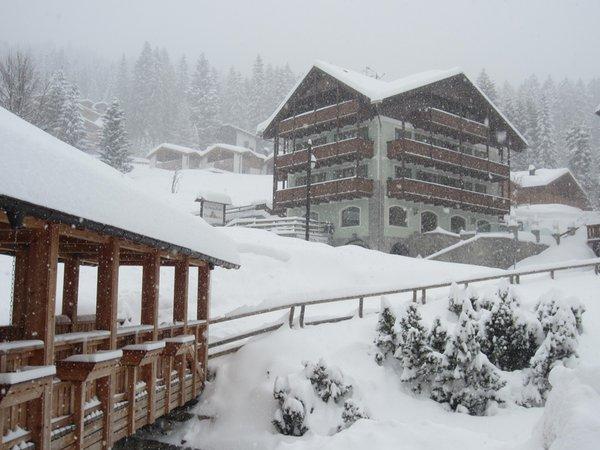 Photo exteriors in winter Torre del Brenta