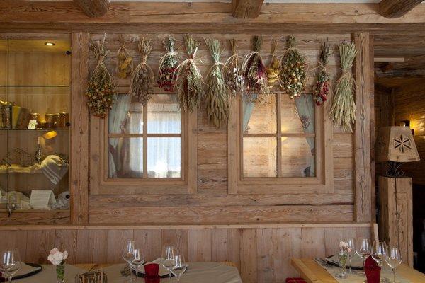 Il ristorante Madonna di Campiglio Fogajard Lovely Chalet