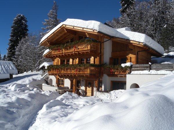 Foto invernale di presentazione Fogajard Lovely Chalet - Camere in agriturismo 5 fiori