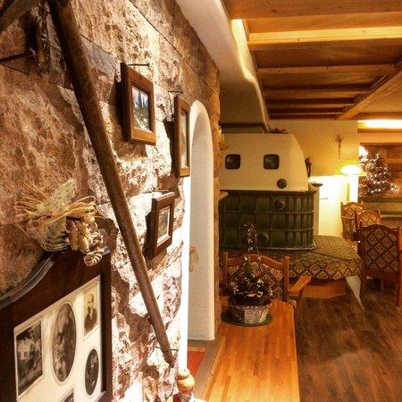 Le parti comuni Hotel Alpina